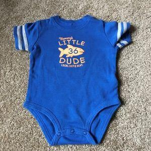 Carter's Blue Mommy's Little Dude/Local Cutie Dept